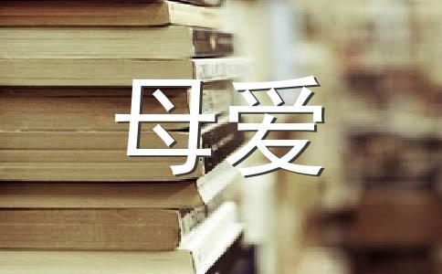 【精华】母爱800字作文汇编五篇