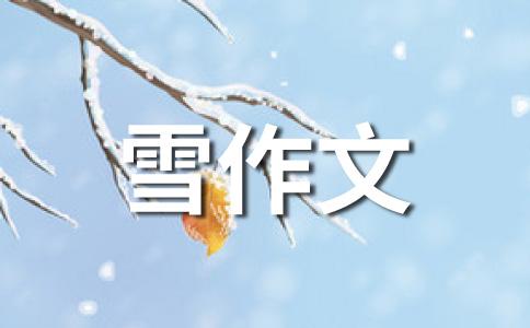 【精品】雪的400字作文集锦八篇