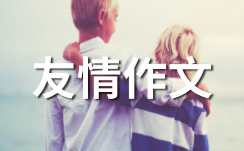 【热】友情400字作文集锦5篇