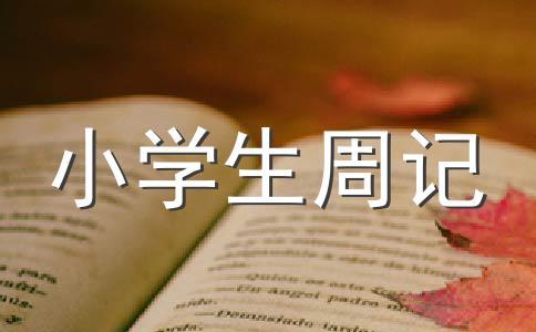 【热门】周记400字作文(精选八篇)